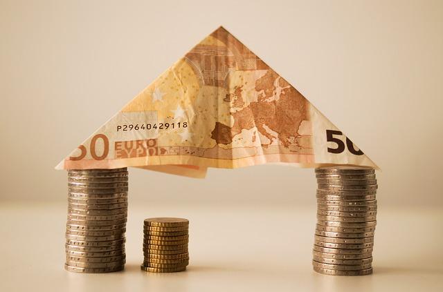 Geld-Haus, Kredit, Euro
